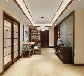 三居 中式 客厅 定制家装 温馨 玄关图片来自业之峰装饰旗舰店在凛冬傲梅的分享
