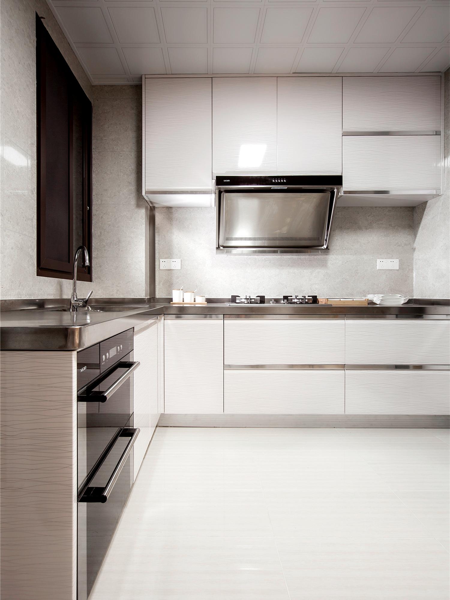 新东方 新中式 现代中式 天汇设计 游小话 厨房图片来自福建天汇设计工程有限公司在THD-天汇设计《清风韵》的分享