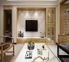 设计师在多次和业主沟通后,依据业主的生活状态和喜好决定为业主打造清新、带有禅意的现代中式风格居室。