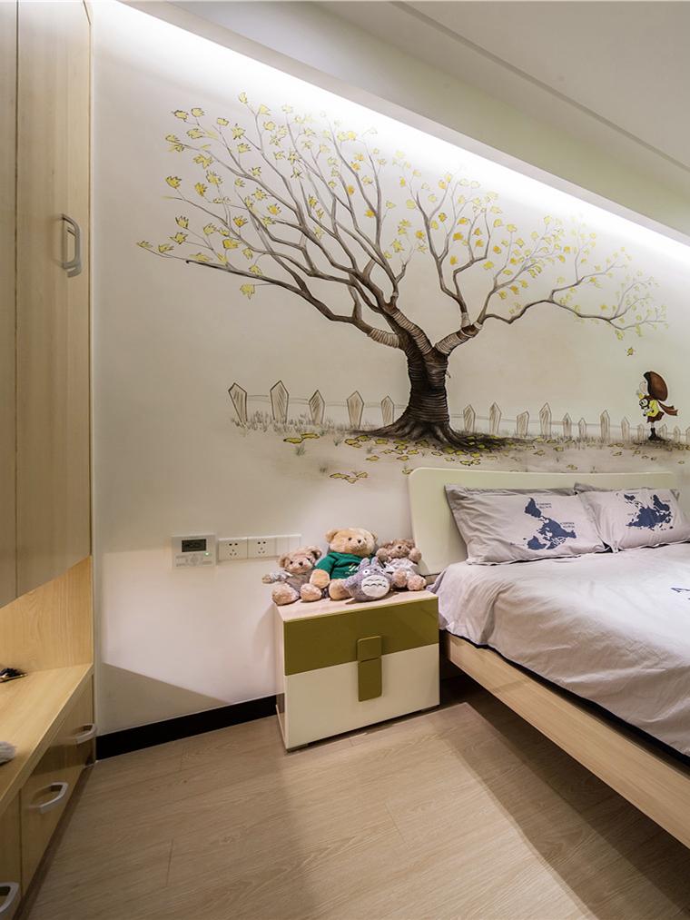 新东方 新中式 现代中式 天汇设计 游小话 儿童房图片来自福建天汇设计工程有限公司在THD-天汇设计《清风韵》的分享