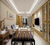 在中国文化风靡全球的现今时代,中式元素与现代材质的巧妙兼柔亦是对清雅含蓄、端庄丰华的东方式精神境界的追求。