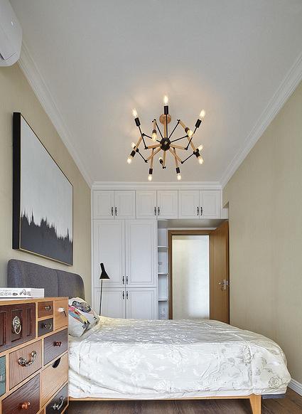 卧室图片来自家装大管家在舒适温暖 100平简约混搭雅致3居的分享