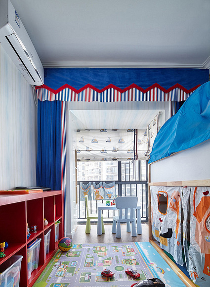 儿童房图片来自家装大管家在舒适温暖 100平简约混搭雅致3居的分享