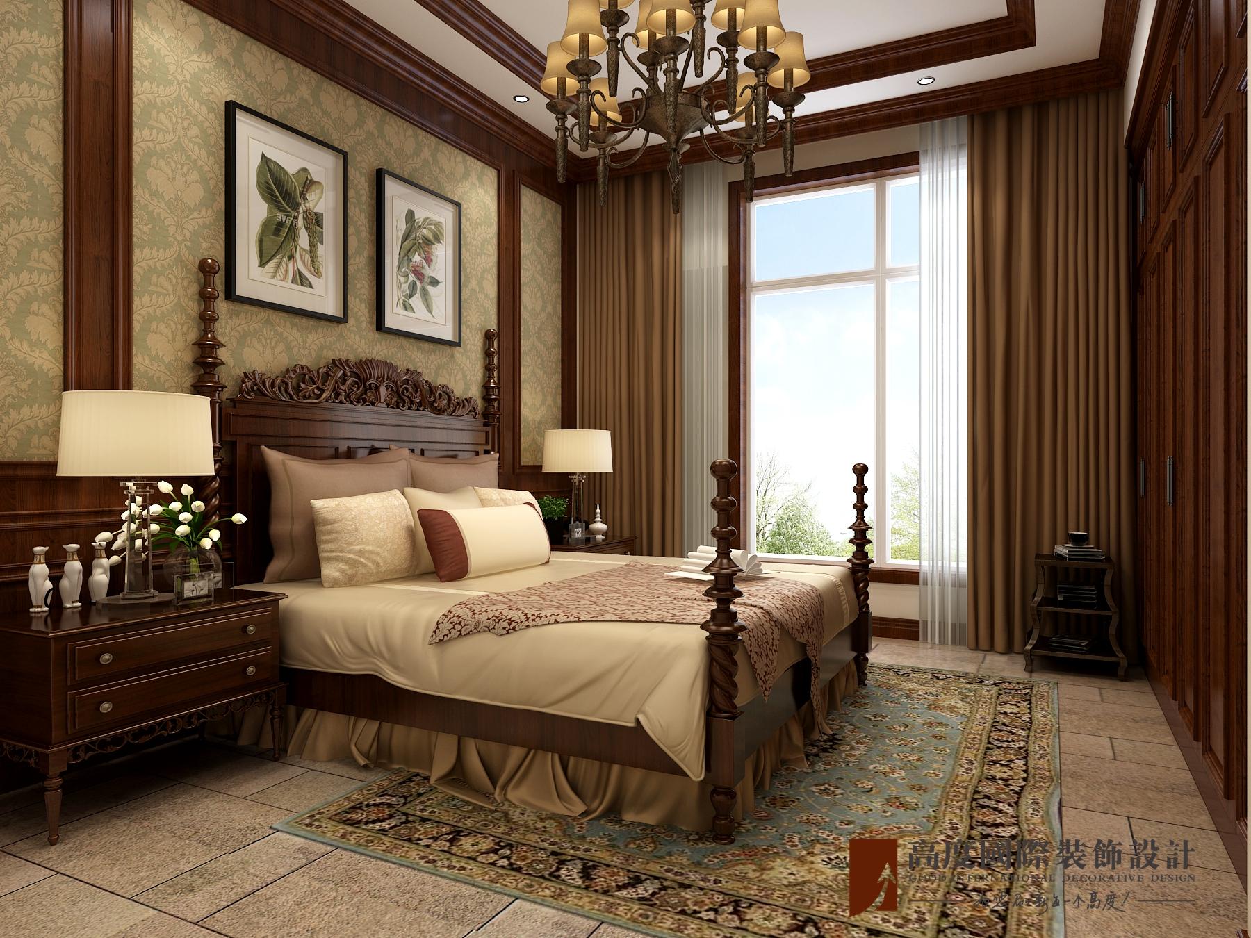 卧室图片来自北京高度国际在新华联世家---美式乡村的分享