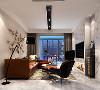 不刻意的去装饰,在灯光上客厅都没用采用主灯,一切都了去营造一个符合现代审美的舒适空间。