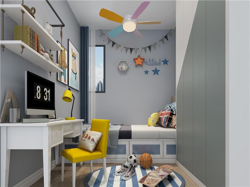 儿童房图片来自深圳浩天装饰在宝安天福华府现代简约案例欣赏的分享