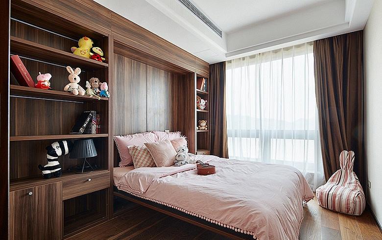 简约 混搭 三居 白领 卧室图片来自家装大管家在120平简约雅致3居 回归最初美好的分享