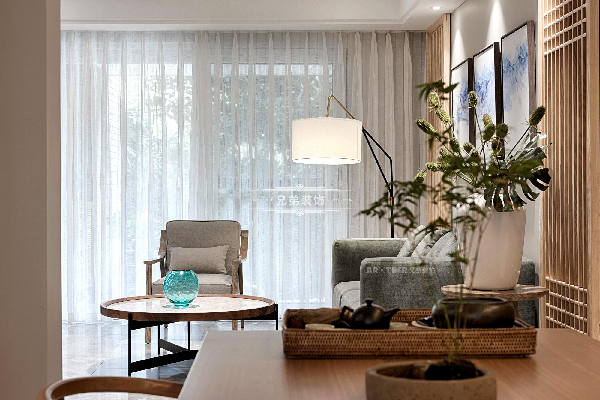 中式 洋房 设计 客厅图片来自重庆兄弟装饰黄妃在设计腕获奖作作品,兄弟装饰全案的分享