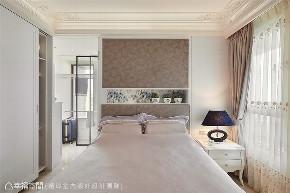 装修设计 装修完成 新古典 卧室图片来自幸福空间在225平, 优雅新古典  美感艺术宅的分享
