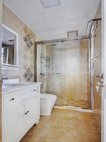 卫生间图片来自家装大管家在101平简约美式3居 细腻美妙之家的分享