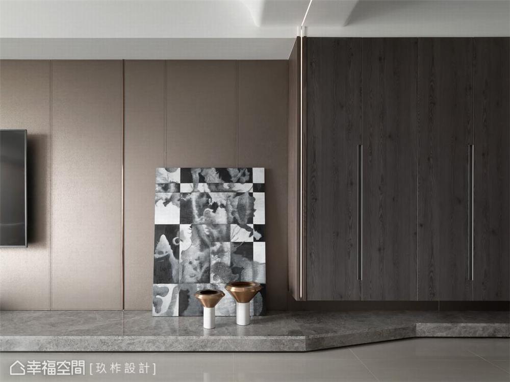 装修设计 装修完成 客厅图片来自幸福空间在149平, 现代简约宁静私宅的分享