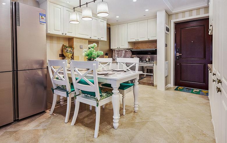 餐厅图片来自家装大管家在101平简约美式3居 细腻美妙之家的分享