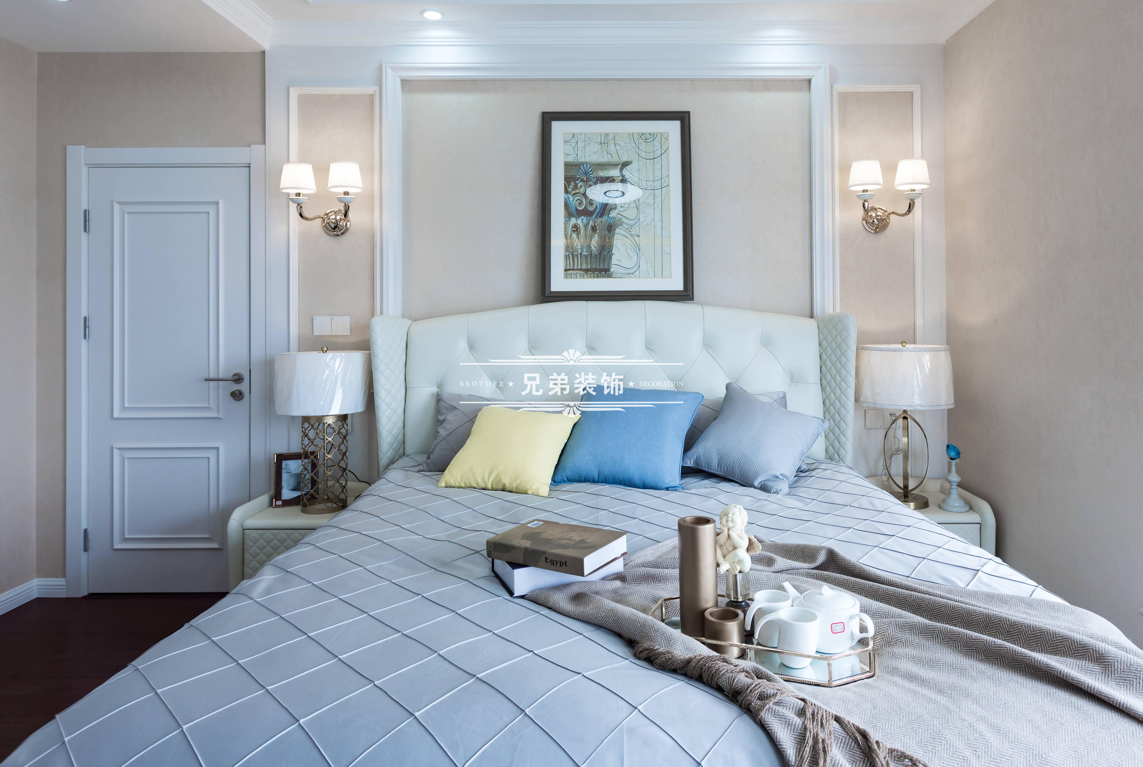 欧式 高层 设计 卧室图片来自重庆兄弟装饰黄妃在金科廊桥水岸全案装饰装修设计的分享