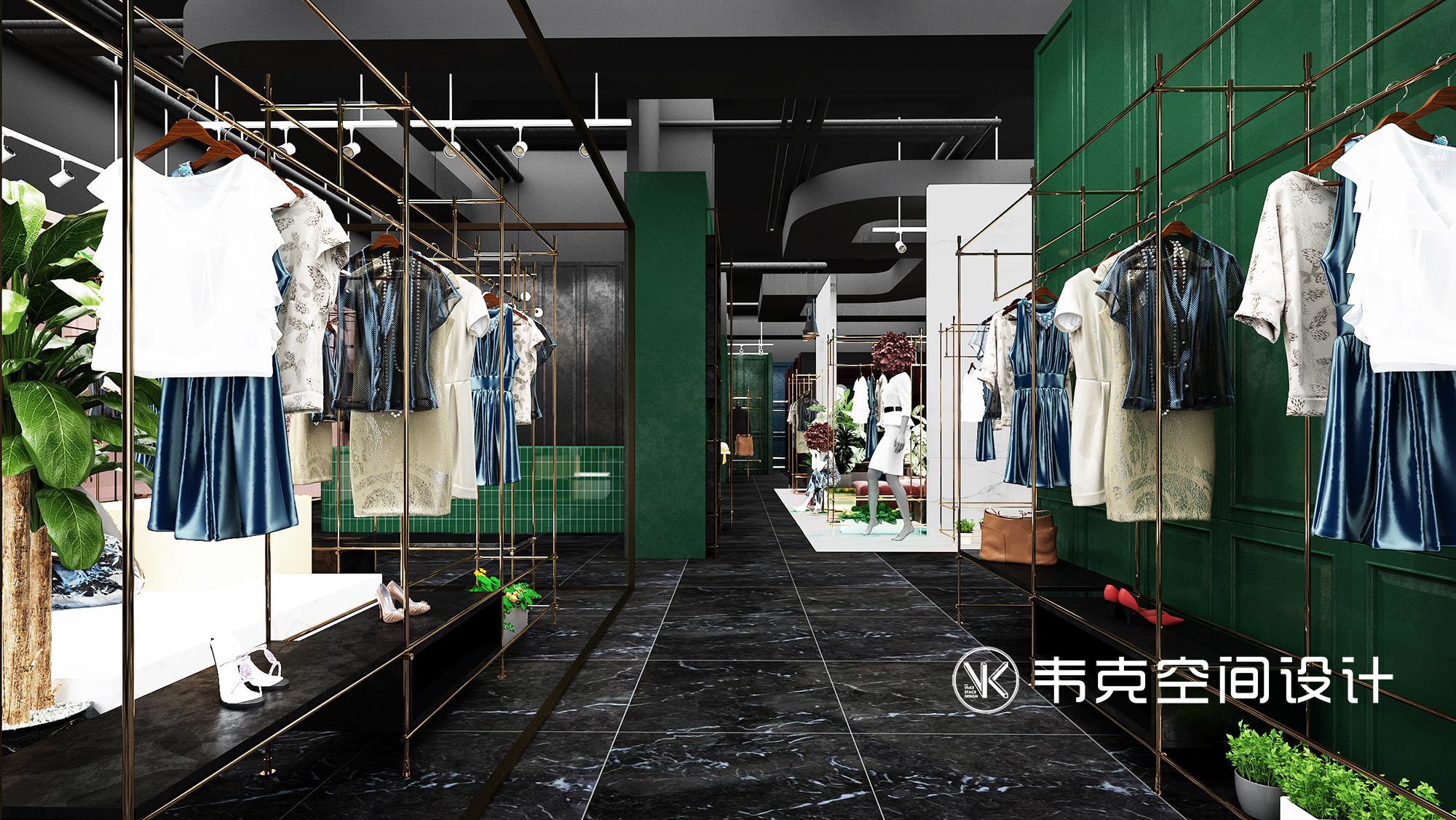 客厅图片来自韦克空间设计在用优雅的姿态与你相遇的分享
