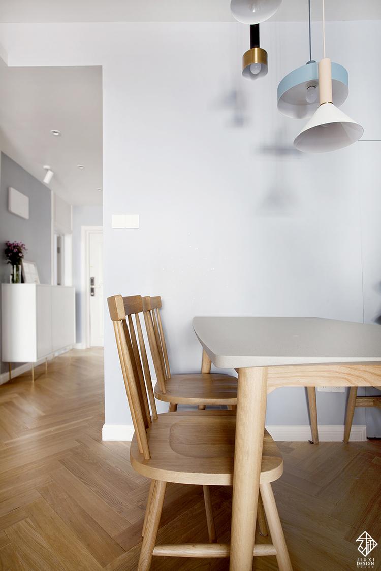 三居 收纳 旧房改造 80后 简约 北欧 久栖设计 室内设计 餐厅图片来自久栖设计在久栖设计丨北京花市枣苑丨光年的分享