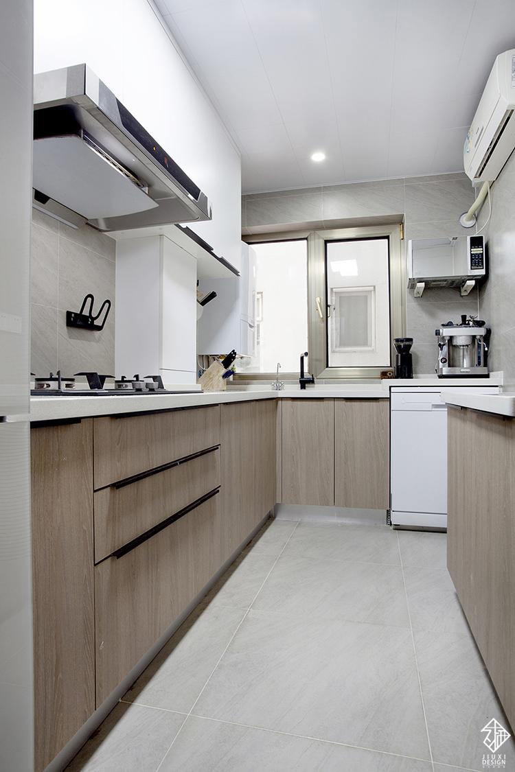 三居 收纳 旧房改造 80后 简约 北欧 久栖设计 室内设计 厨房图片来自久栖设计在久栖设计丨北京花市枣苑丨光年的分享
