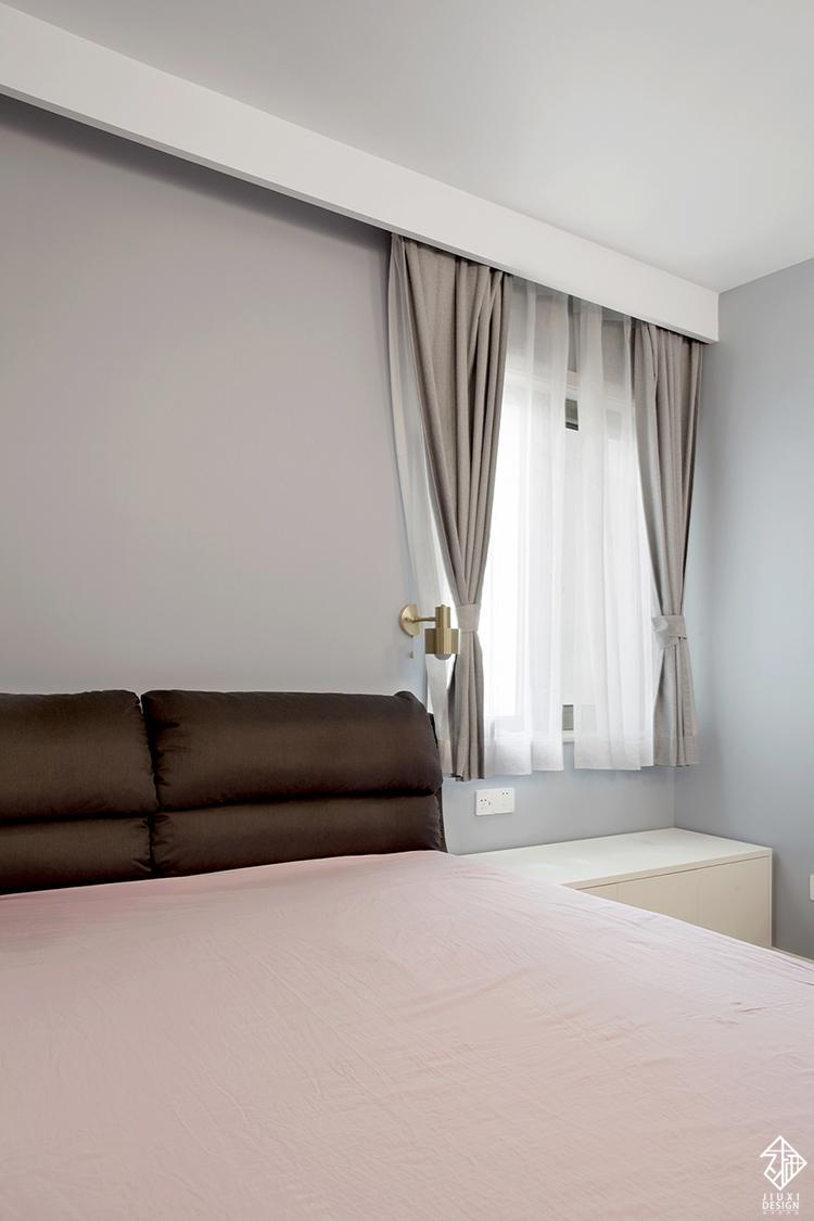 三居 收纳 旧房改造 80后 简约 北欧 久栖设计 室内设计 卧室图片来自久栖设计在久栖设计丨北京花市枣苑丨光年的分享