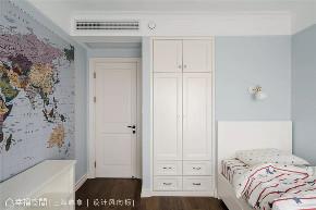 四居 美式 上海装修 设计师 上海映象 上海设计 幸福空间 儿童房图片来自幸福空间在荏苒 |美式随兴恬淡之家的分享