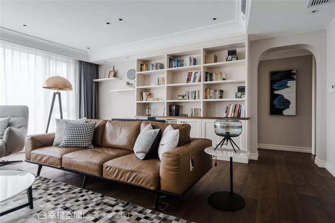 四居 美式 上海装修 设计师 上海映象 上海设计 幸福空间 客厅图片来自幸福空间在荏苒 |美式随兴恬淡之家的分享