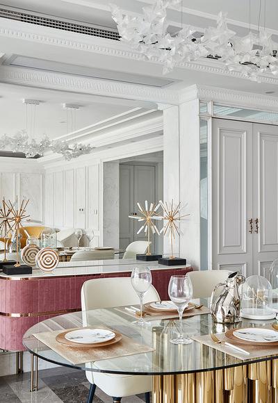 餐厅图片来自家装大管家在净心看世界 168平法式浪漫3居的分享
