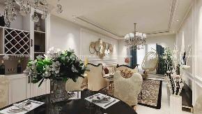 欧式 欧式奢华 奢华 高富帅 白富美 享受 三居 混搭 白领 餐厅图片来自二十四城装饰(集团)昆明公司在盛唐城 欧式奢华风的分享