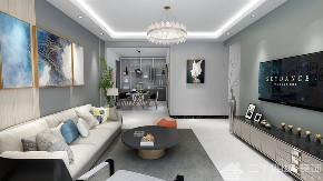 现代简约 现代 时尚 高富帅 白富美 白领 收纳 小资 混搭 客厅图片来自二十四城装饰(集团)昆明公司在恒泰滇池名门 现代简约的分享