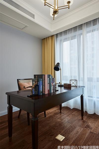书房图片来自家装大管家在春暖花开 112平美式温馨时尚3居的分享