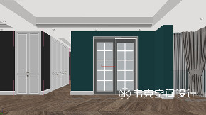 三居 北欧 厨房图片来自韦克空间设计在转角皆储物,127㎡北欧暖心美宅的分享