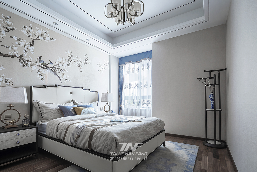 王五平设计 样板房设计 卧室图片来自王五平设计在阳朔彰泰十里春风T2样板房的分享