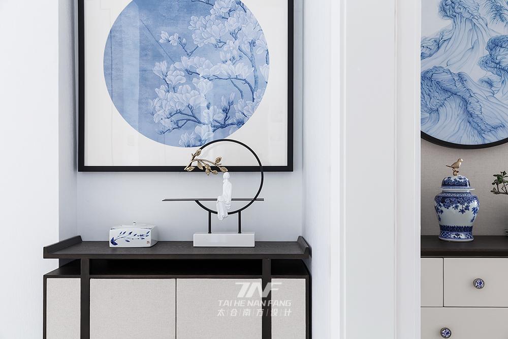 王五平设计 样板房设计 玄关图片来自王五平设计在阳朔彰泰十里春风T2样板房的分享