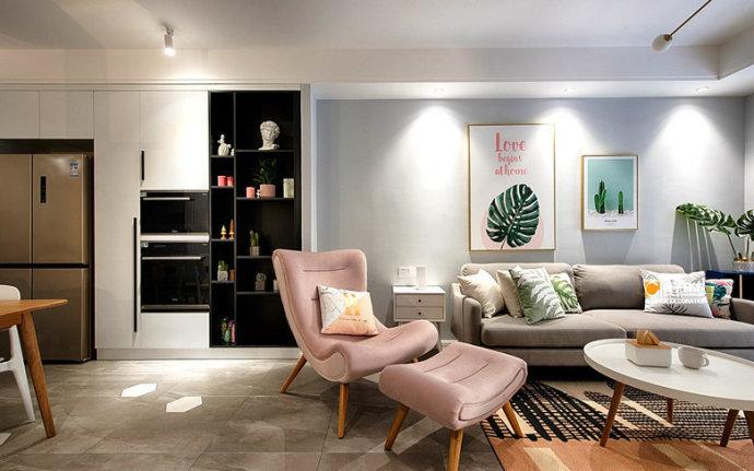 欧式 三居 旧房改造 小资 80后 客厅图片来自北京今朝装饰在做梦都想要的家! 的分享
