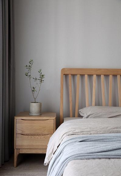 卧室图片来自家装大管家在98平清新北欧空间 文艺范儿满满的分享