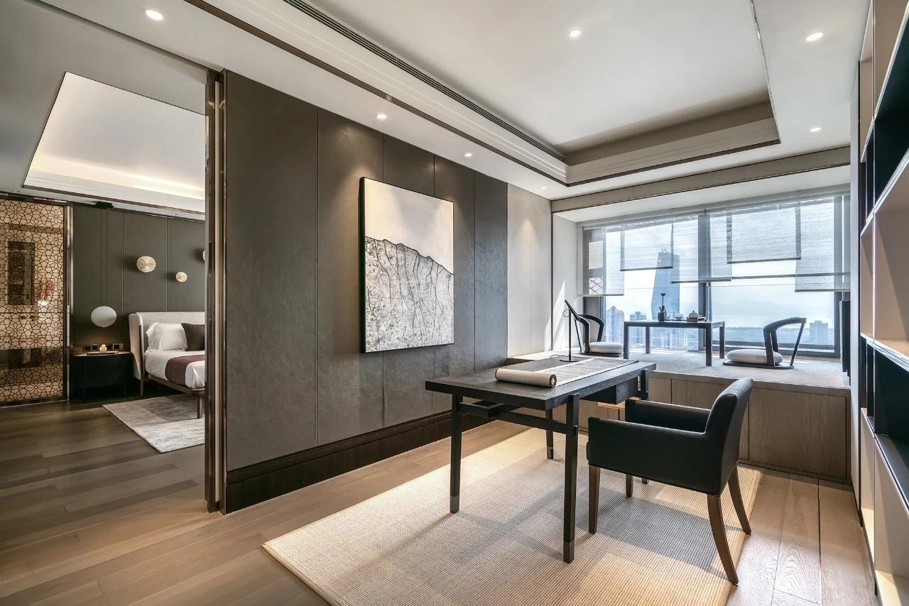 三居 客厅 卧室 新中式 轻奢 餐厅图片来自几墨空间设计在几墨设计  即守旧又喜新的分享