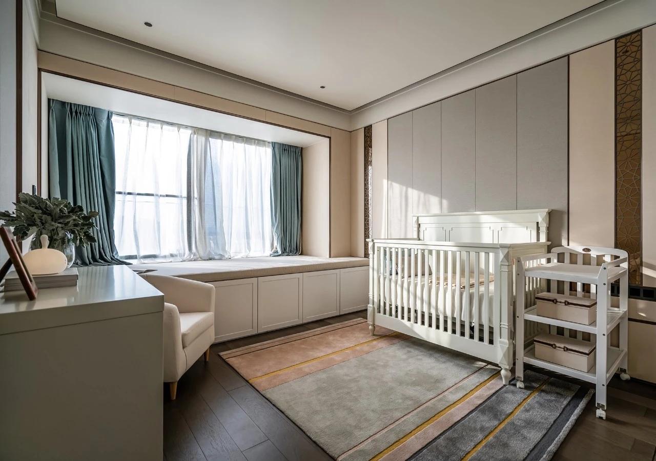 三居 客厅 卧室 新中式 轻奢 餐厅图片来自几墨空间设计在几墨设计| 即守旧又喜新的分享