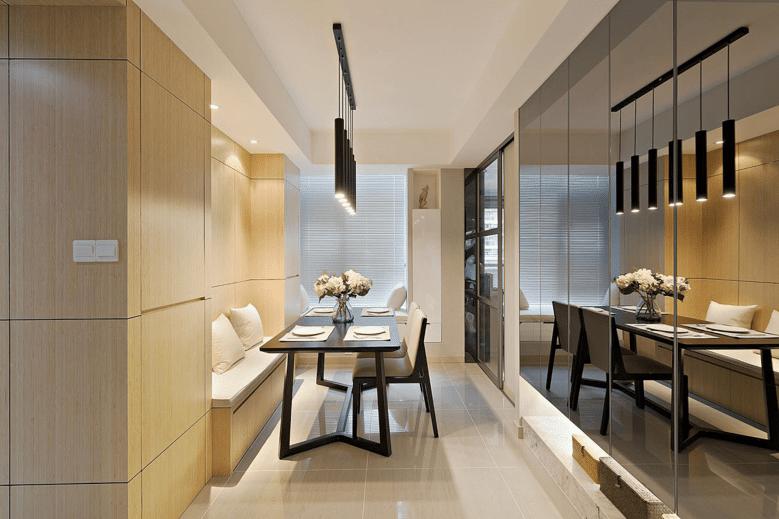 餐厅图片来自家装大管家在宁静淡然 139平台式简约混搭3居的分享