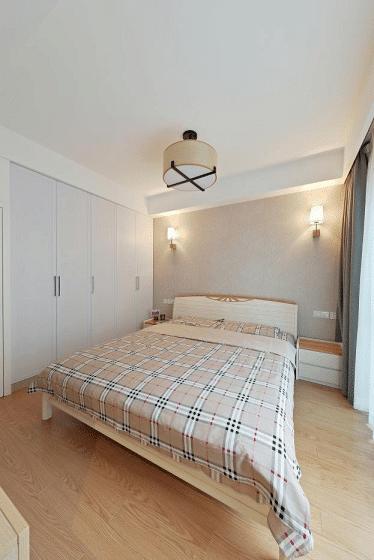 卧室图片来自家装大管家在宁静淡然 139平台式简约混搭3居的分享
