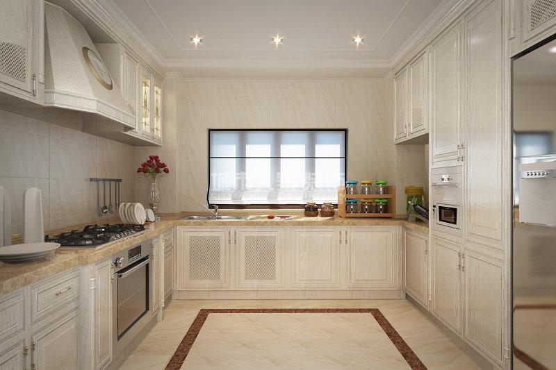 欧式 九锦台 四居 装修公司 西安装修 厨房图片来自西安城市人家装饰王凯在法式宫廷范,细腻到时光里的分享