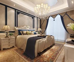 欧式 九锦台 四居 装修公司 西安装修 卧室图片来自西安城市人家装饰王凯在法式宫廷范,细腻到时光里的分享