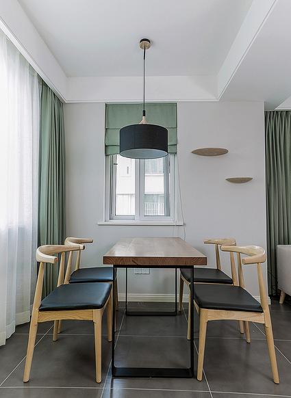 餐厅图片来自家装大管家在舒适的家 78平简约现代时尚空间的分享