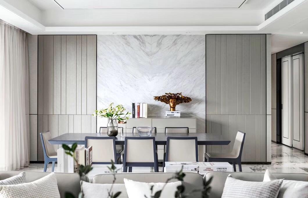四居 现代 餐厅图片来自快乐彩在城阳246平大平层典雅高级灰的分享