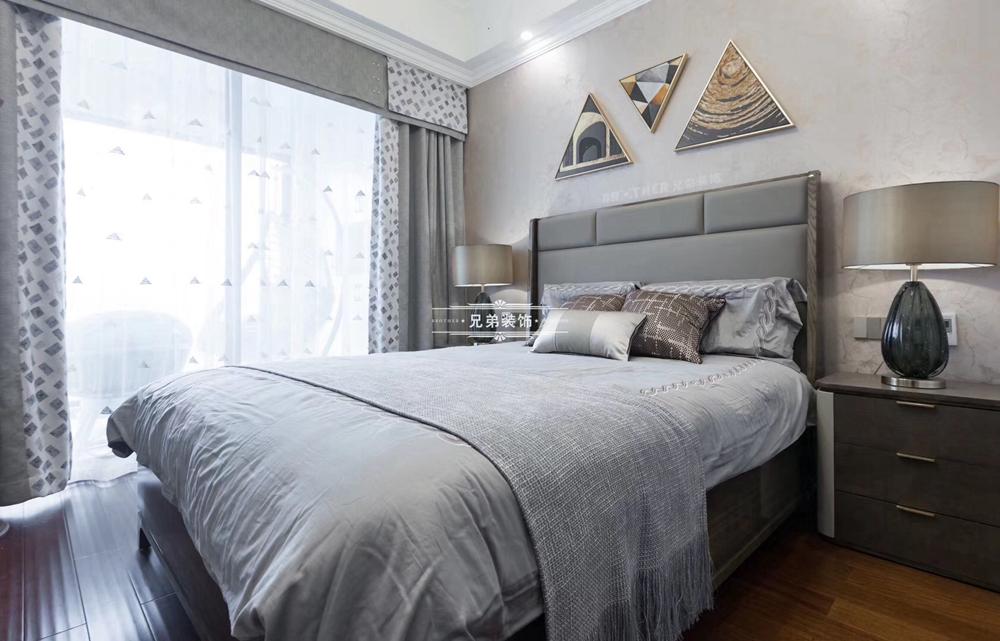 白领 客厅 简约 大户型 兄弟装饰 卧室图片来自兄弟装饰-蒋林明在兄弟装饰|融创白象街装修设计的分享