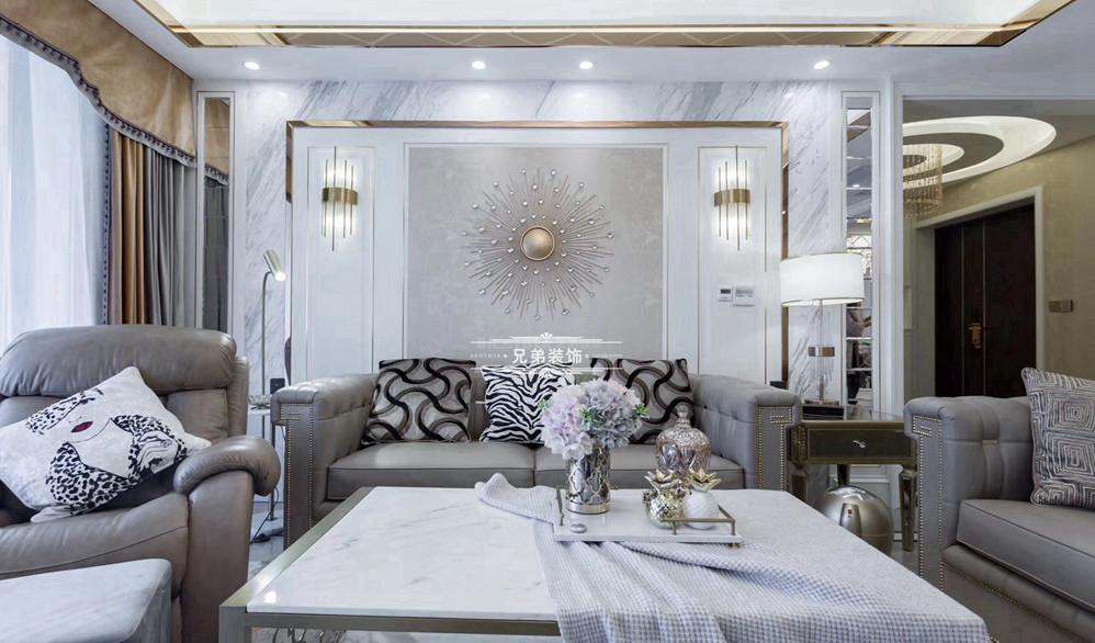 白领 客厅 简约 大户型 兄弟装饰 客厅图片来自兄弟装饰-蒋林明在兄弟装饰|融创白象街装修设计的分享