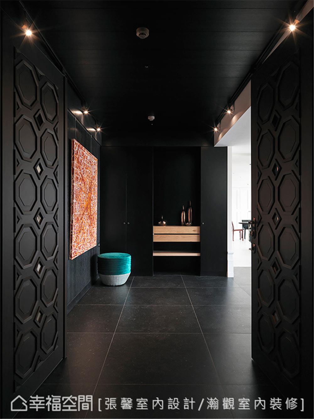 装修设计 装修完成 新古典 玄关图片来自幸福空间在360平, 摩羯座的轻古典暖心宅的分享