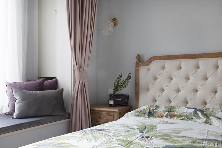 三居 收纳 旧房改造 简约 北欧 ins风 久栖设计 卧室图片来自久栖设计在【久栖设计】金地仰山丨生活肖像的分享