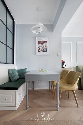 三居 收纳 旧房改造 简约 北欧 ins风 久栖设计 餐厅图片来自久栖设计在【久栖设计】金地仰山丨生活肖像的分享