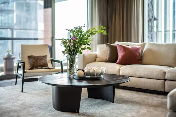 新天鹅堡 新中式 四居 私宅设计 客厅图片来自例外软装设计在新天鹅堡私宅设计--绝美新中式的分享