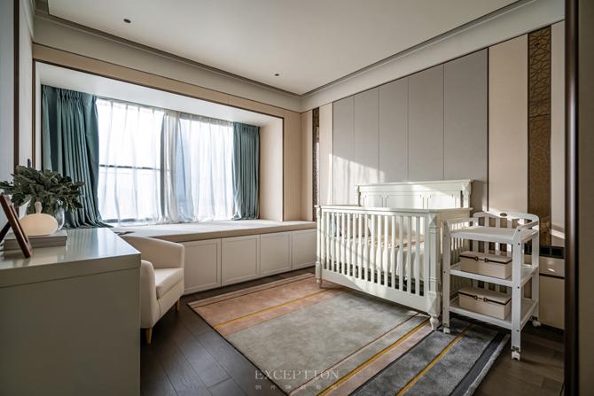 新天鹅堡 新中式 四居 私宅设计 儿童房图片来自例外软装设计在新天鹅堡私宅设计--绝美新中式的分享