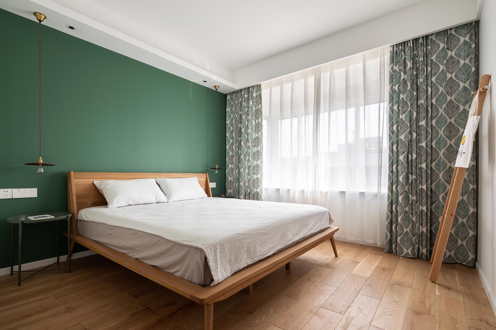 北欧 卧室图片来自大墅尚品-由伟壮设计在140㎡铂克花园『淡淡薄荷味』的分享