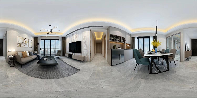 客厅图片来自深圳浩天装饰在龙华壹城中心135平现代风格的分享