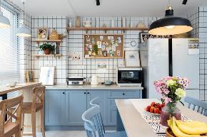 北欧 厨房图片来自大墅尚品-由伟壮设计在140㎡铂克花园『淡淡薄荷味』的分享